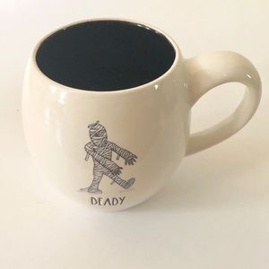 Rae Dunn Deady Mummy Coffee Mug / Cup NEW